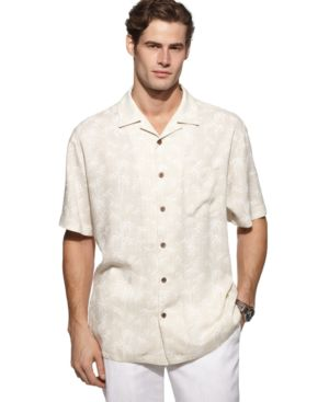 John Ashford Shirt, Bamboo Patterned Shirt