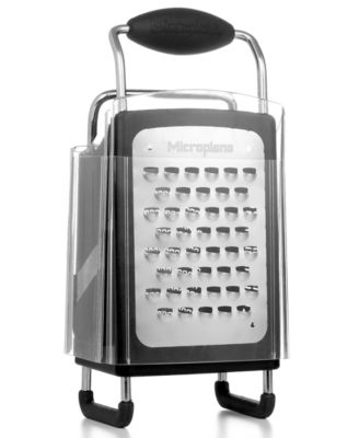 Martha Stewart Collection by Microplane Grater, 4-Sided Stainless Steel