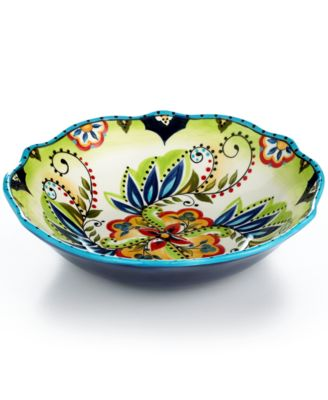 Espana Bocca Scalloped Serving Bowl