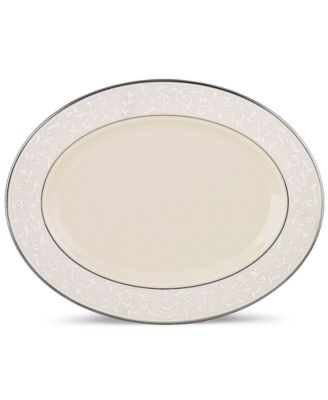 Lenox Pearl Innocence Medium Oval Platter