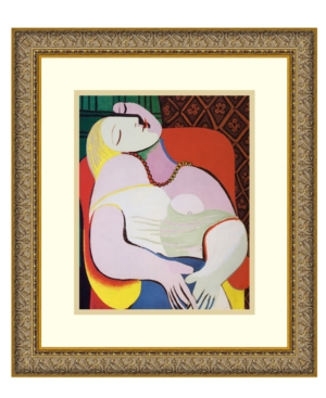 Amanti Art Wall Art, The Dream Framed Art Print by Pablo Picasso