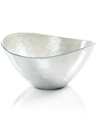 "Simply Designz Serveware, Organic Salad Bowl, 12"""