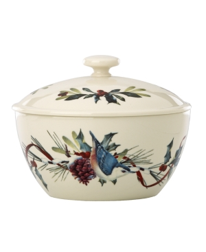 Lenox Serveware, Winter Greetings Small Casserole