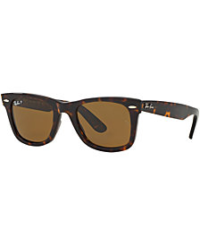 Ray-Ban Polarized Sunglasses , RB2140 ORIGINAL WAYFARER