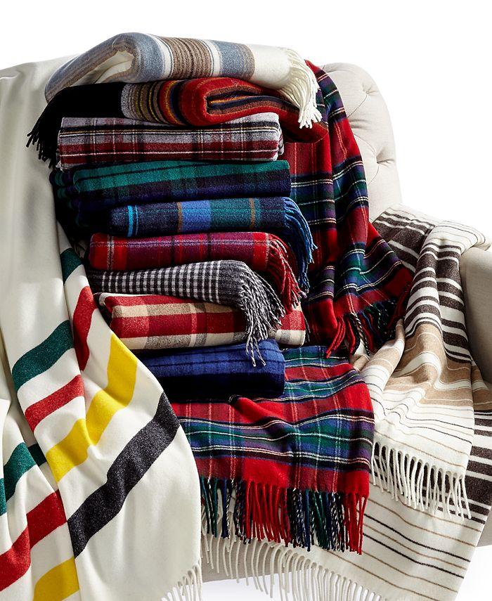 Pendleton - 5th Avenue Fringed Wool Throw