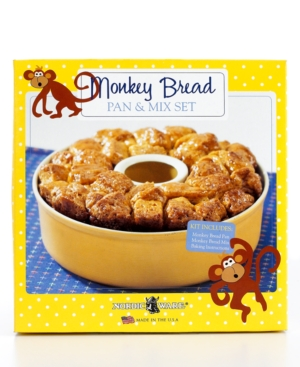 Nordicware Bundt Pan and Mix Set, Monkey Bread