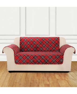 CLOSEOUT!  Holiday Motifs Quilted Chair Slipcover