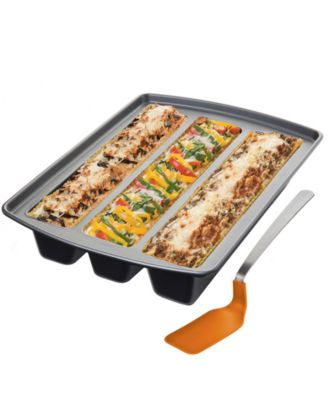 CLOSEOUT! Chicago Metallic Lasagna Trio Pan