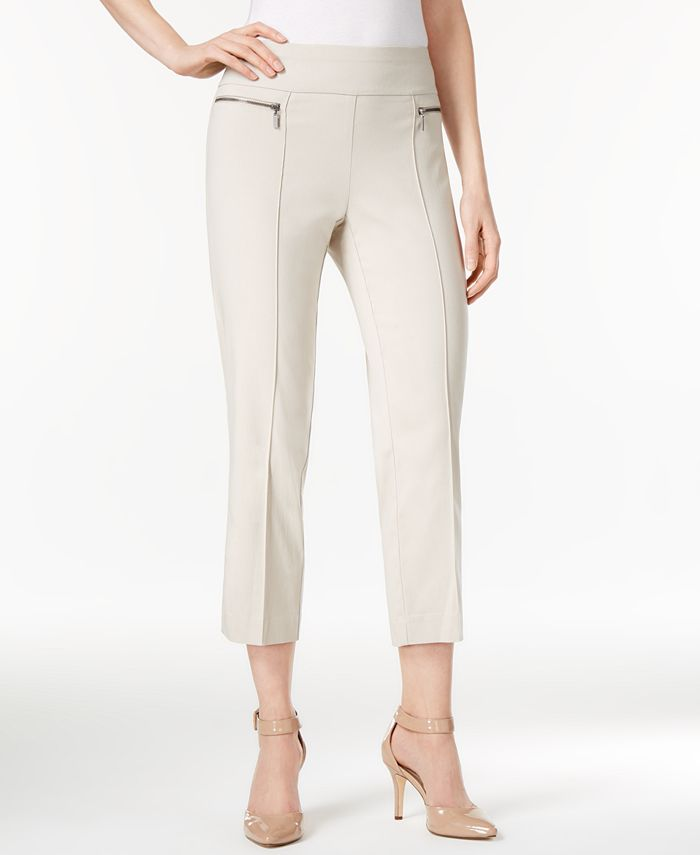 Style & Co - Pull-On Cropped Pants