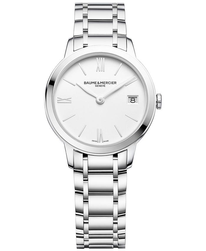 Baume & Mercier - Women's Swiss Classima Stainless Steel Bracelet Watch 31mm M0A10335