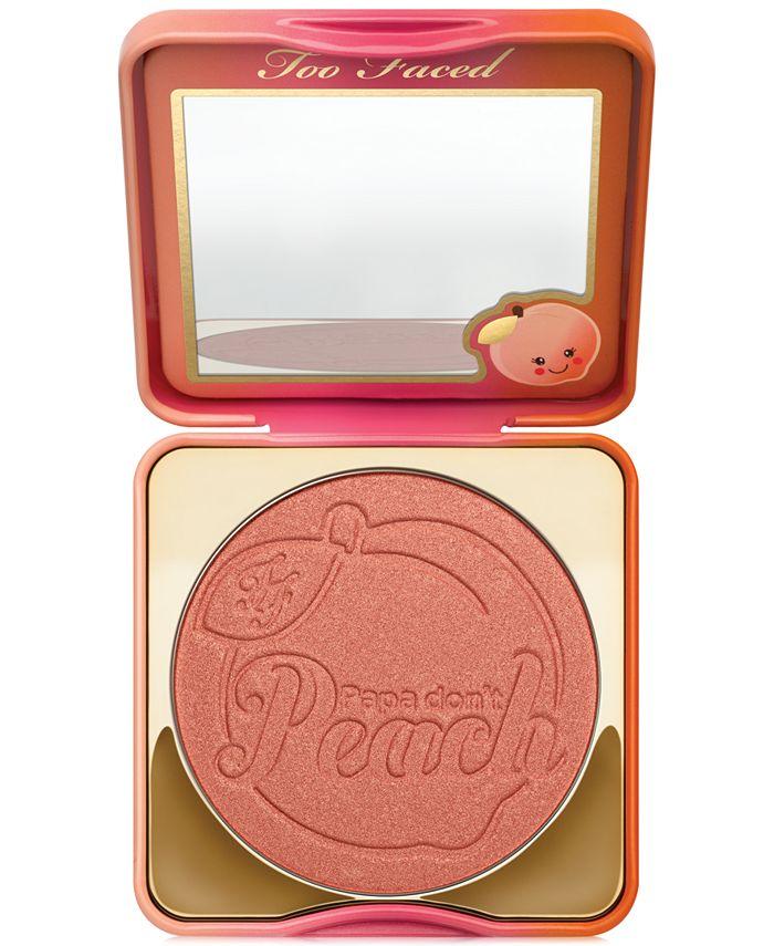 Too Faced - Sweet Peach Papa Don't Peach Blush