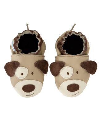 Robeez Baby Boys Shoes, 3D Puppy