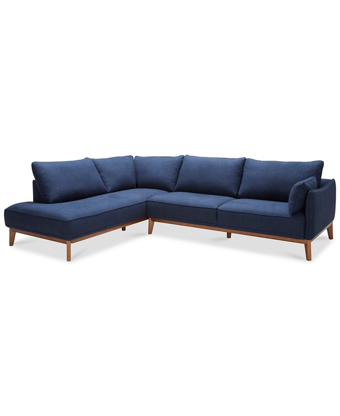 """Furniture - Jollene 113"""" 2-Pc. Sectional, Only at Macy's"""