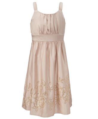 Hype Girls Dress, Satin Sequin Dress