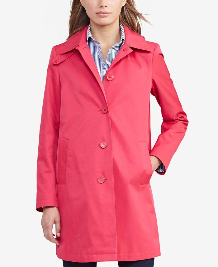 Lauren Ralph Lauren - Hooded Trench Coat