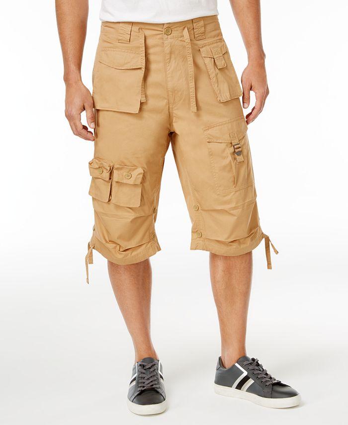 Sean John - Shorts, Classic Flight Cargo Shorts