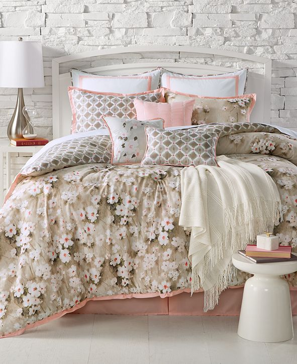 Kelly Ripa Home CLOSEOUT! Anisa Reversible 10-Pc. Comforter Sets