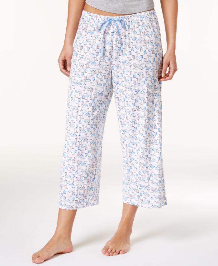 Hue Icy Margarita Knit Capri Pajama Pants & Reviews - Bras, Panties & Lingerie - Women - Macy's