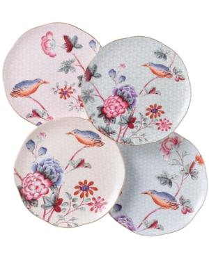 Wedgwood Dinnerware, Set of 4 Cuckoo Tea Plates