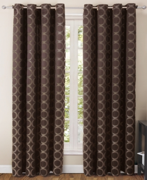 "victoria classics window treatments, ringo 55"" x 84"" panel bedding"