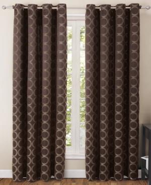 "victoria classics window treatments, ringo 55"" x 84"" panel bedding"