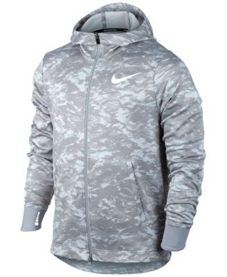 Nike Men's Therma Elite Printed Zip