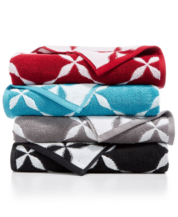 Charter Club - Elite Hygro Cotton Fashion Trellis Hand Towel