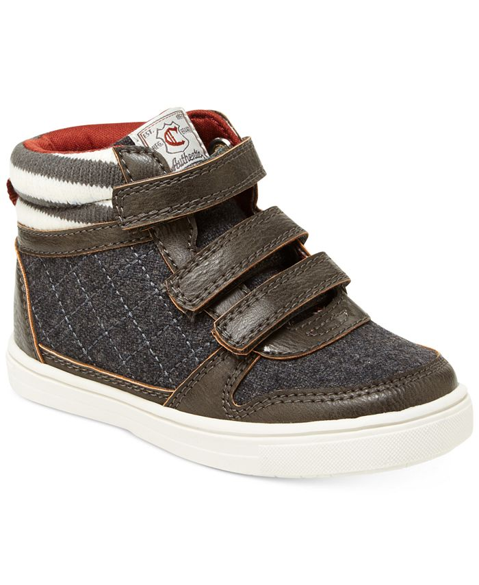 Carter's - Terry High-Top Casual Sneakers, Toddler & Little Boys (4.5-3)