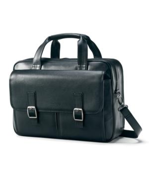 Samsonite Flap Brief, Leather Laptop Friendly Business Case