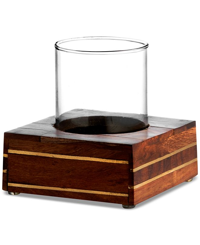 Cassadecor Roosewood Tumbler with Holder