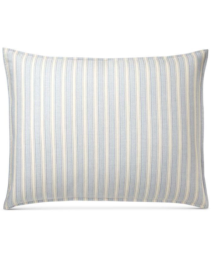 Lauren Ralph Lauren - Graydon Cotton Bold Stripe King Sham