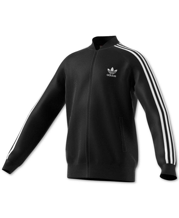 adidas - Superstar Track Jacket, Big Boys (8-20)