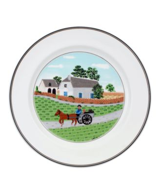 Villeroy & Boch Dinnerware, Design Naif Dinner Plate Going to Market
