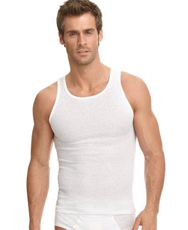 Jockey Men 39 S Big Tall Classic Ribbed A Shirt 2 Pack
