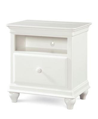Mia Kids Power Outlet Station Nightstand