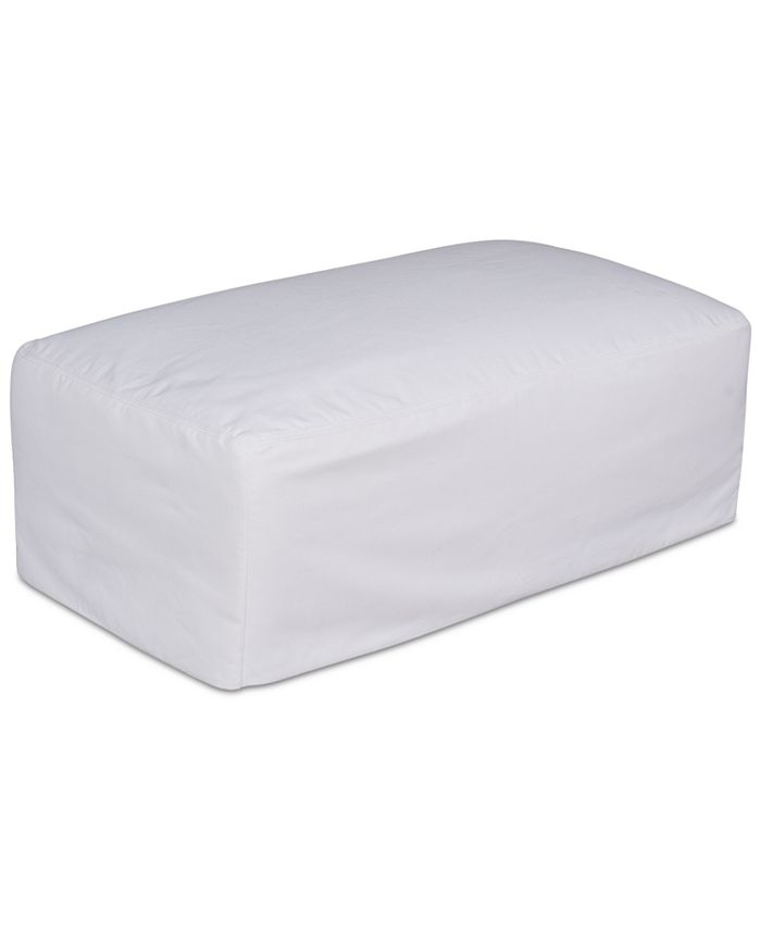 Furniture - Brenalee Ottoman Performance Fabric Slipcover