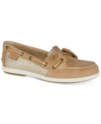 Coil Ivy Sparkle Boat Shoes