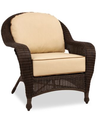 Harper Wicker Patio Furniture, Outdoor Lounge Chair - furniture ...