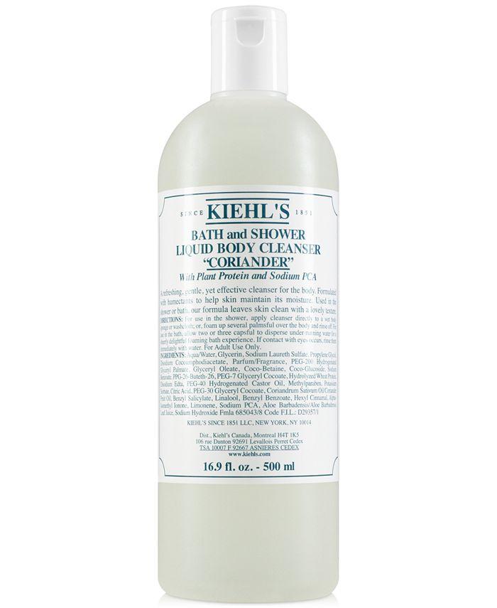 Kiehl's Since 1851 - Bath & Shower Liquid Body Cleanser - Coriander, 16.9-oz.