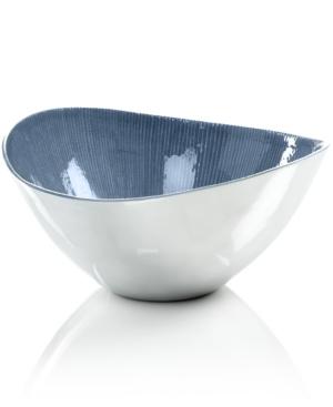 Simply Designz Serveware, Parisian Blue Salad Bowl
