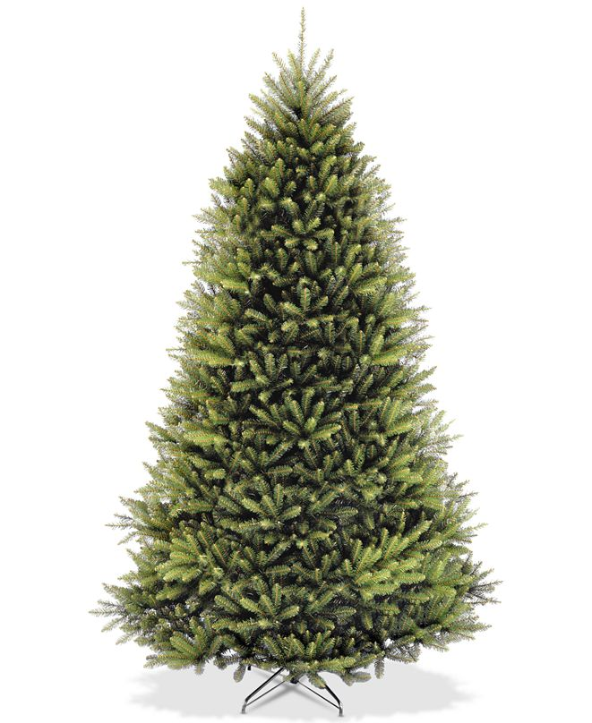 National Tree Company 9' Dunhill® Fir Full-Bodied Hinged Tree
