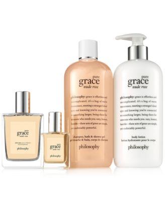 Pure Grace Nude Rose Shower Gel, 16-oz.
