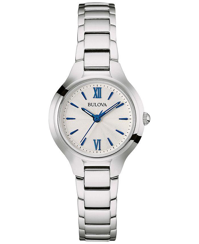 Bulova - Women's Classic Stainless Steel Bracelet Watch 28mm