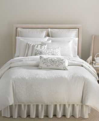CLOSEOUT! Martha Stewart Collection Pair of Shimmer Standard Pillowcases