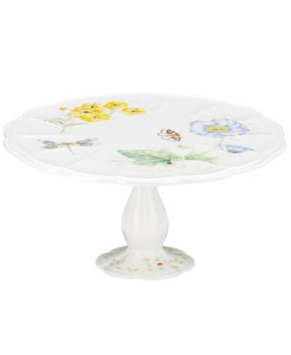 Lenox Dinnerware, Butterfly Meadow Medium Cake Stand