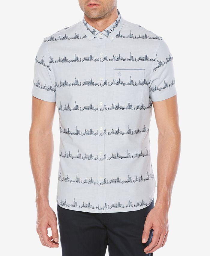 Original Penguin - Men's City Stripe Shirt