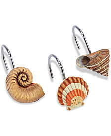 Avanti Seaside Vintage 12-Pc. Shower Hook Set