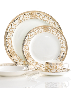 Cru Dinnerware, Athena 5 Piece Place Setting