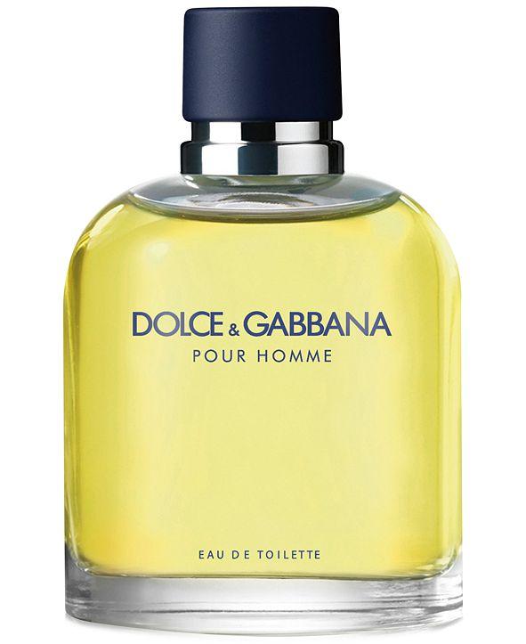 Dolce & Gabbana DOLCE&GABBANA Men's Pour Homme Eau de Toilette Spray, 6.6 oz.