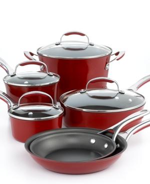KitchenAid Gourmet Porcelain Cookware Set, 10 Piece